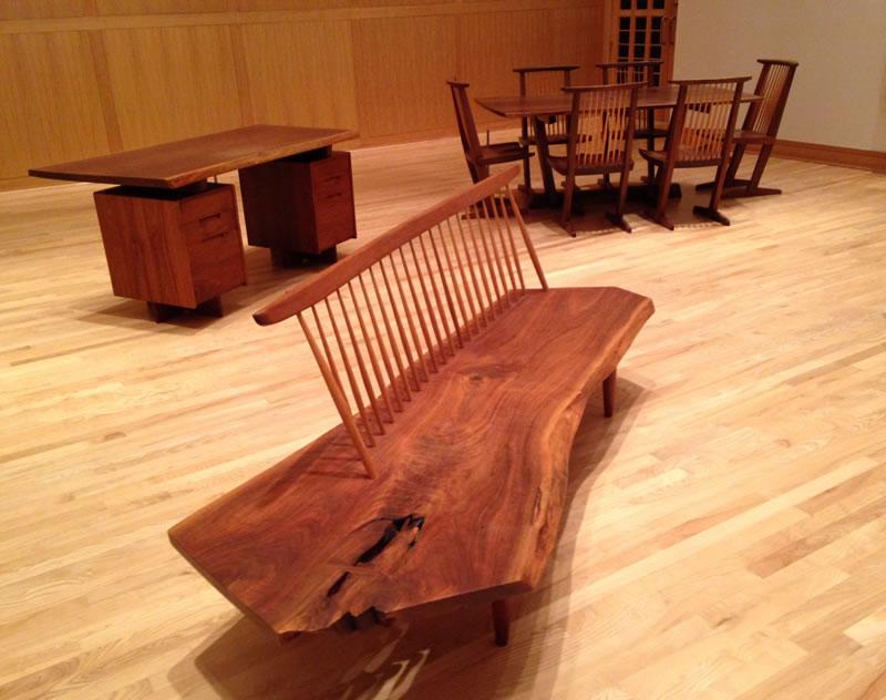 Hallowed Trees The Furniture Of George Nakashima