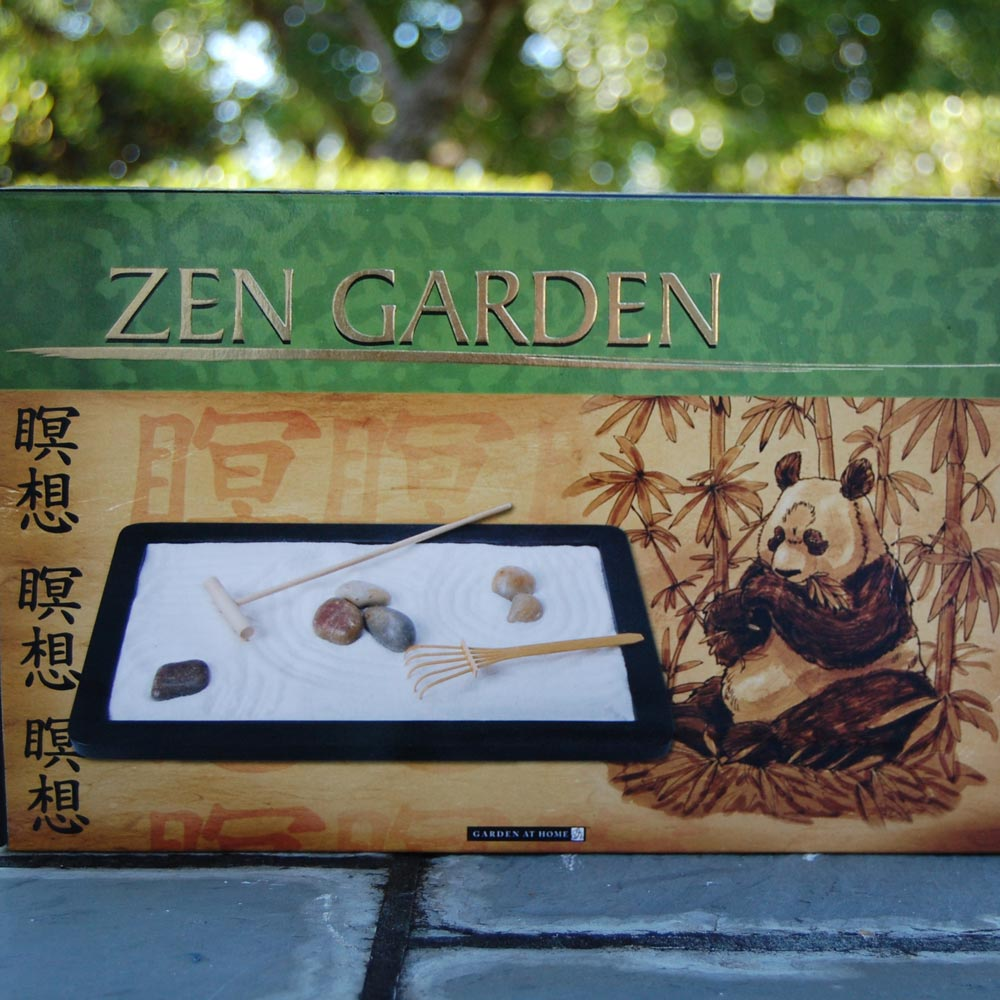 Tabletop Zen Garden Morikami Museum And Japanese Gardens
