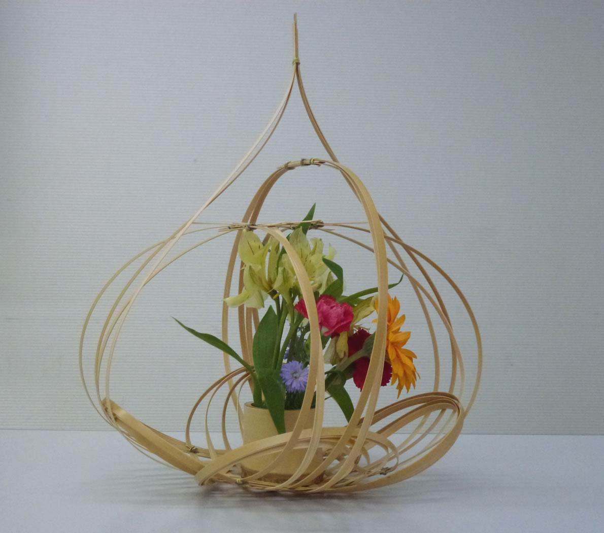 Art Of Basket Making : The art of bamboo basket making with sh chiku tanabe
